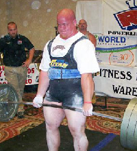 Powerlifter Scott Weech