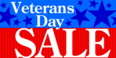 generic veterans day sale sign I Will Be Iron